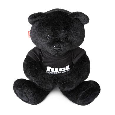 fuct kill people not animals teddy (blk)