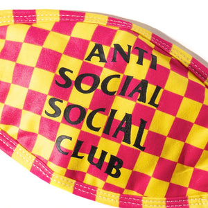 anti social social club photobooth mask