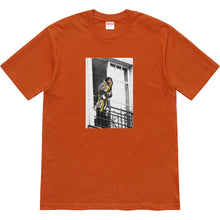 Load image into Gallery viewer, supreme x ANTIHERO balcony tee (rust)
