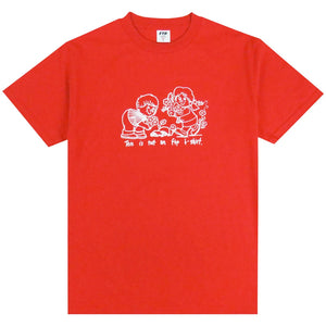 ftp flowers tee (red)