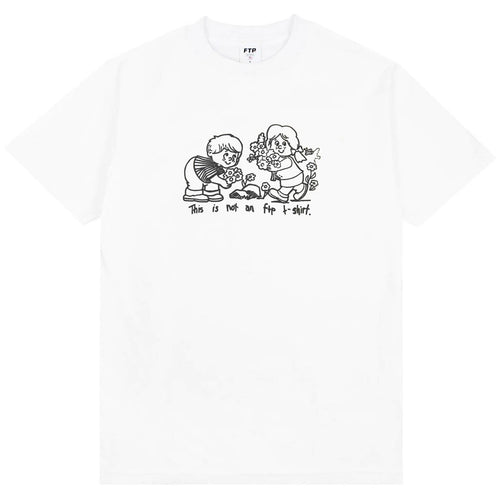ftp flowers tee (white)