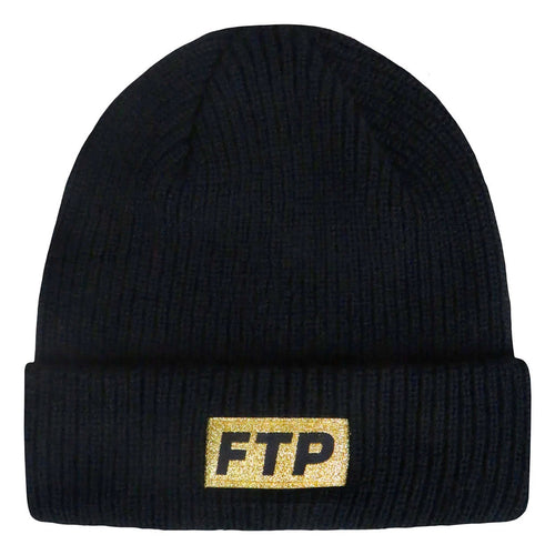 ftp 10 year logo beanie (black)