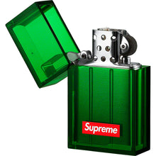 Load image into Gallery viewer, supreme x tsubota pearl hard edge lighter (green)