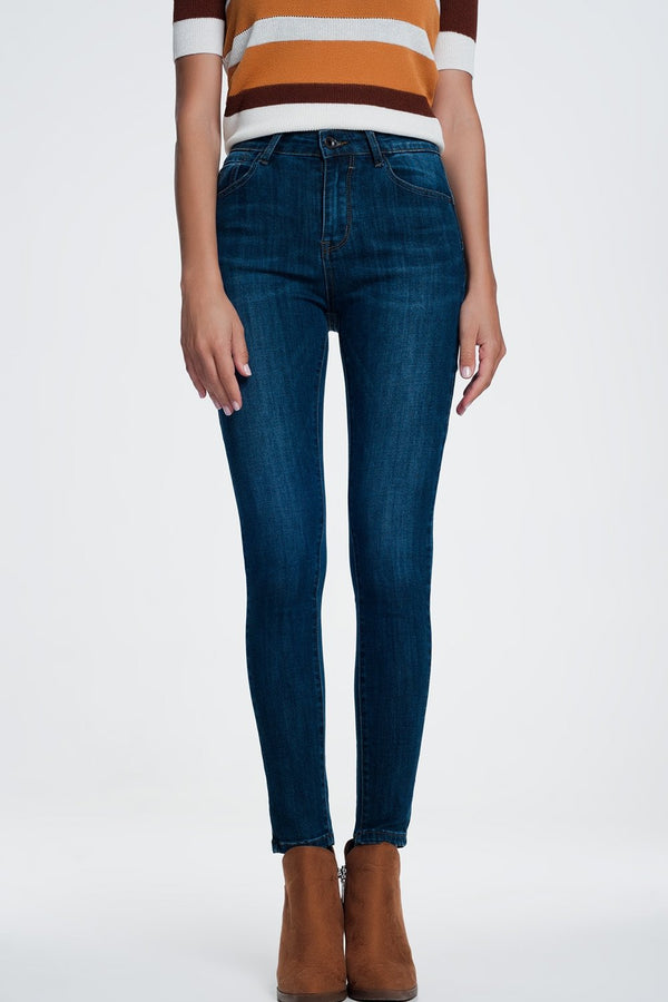 Shaping Effect Push Up Skinny Jeans