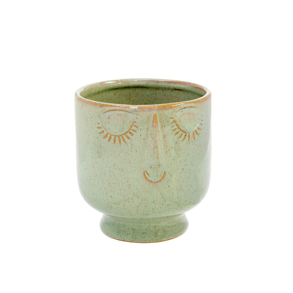 Friendly Face Pot