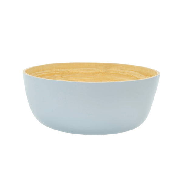 Large Spun Bamboo Bowl in Sky