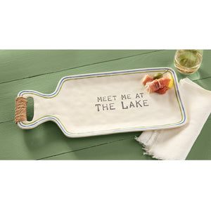 Meet Me at the Lake Platter