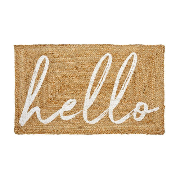 Hello Door Mat