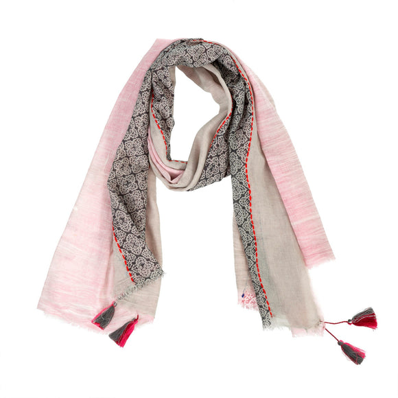 Curacao Scarf in Pink