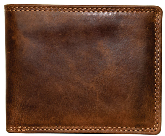 Horizontal Fold Men's Wallet with Flip Out and Insert 99012
