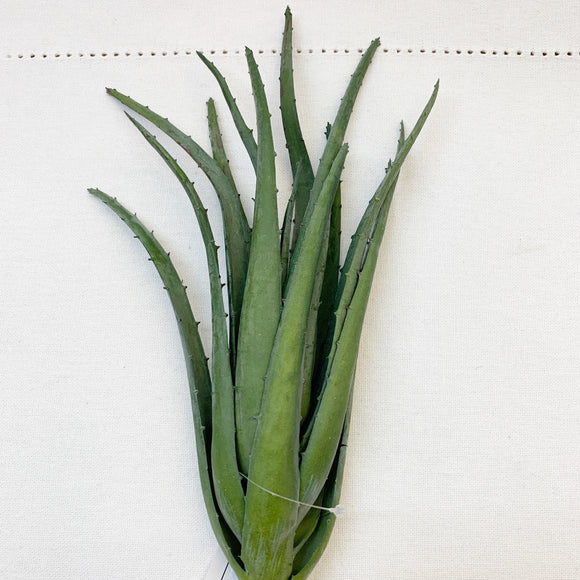"12"" Real Touch Aloe Plant"