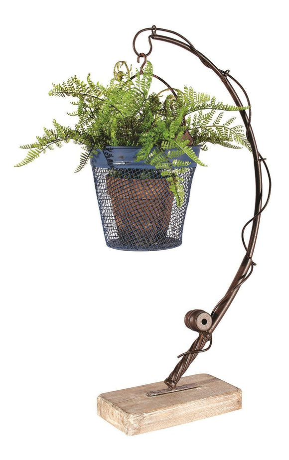 Fishing Rod Planter or Candleholder
