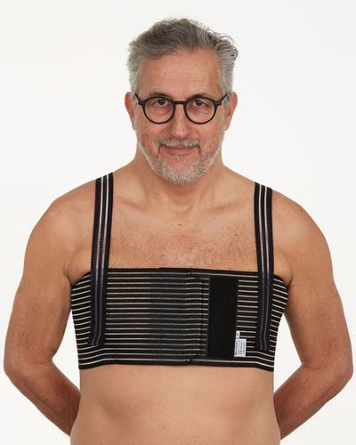 Thor chest compression binder for ginecomastectomy