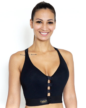 Calla Cozy post surgery bra for breast augmentation lift and reconstruction
