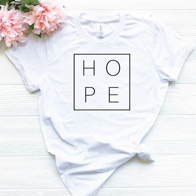 Hope T-shirt - We Love Faith