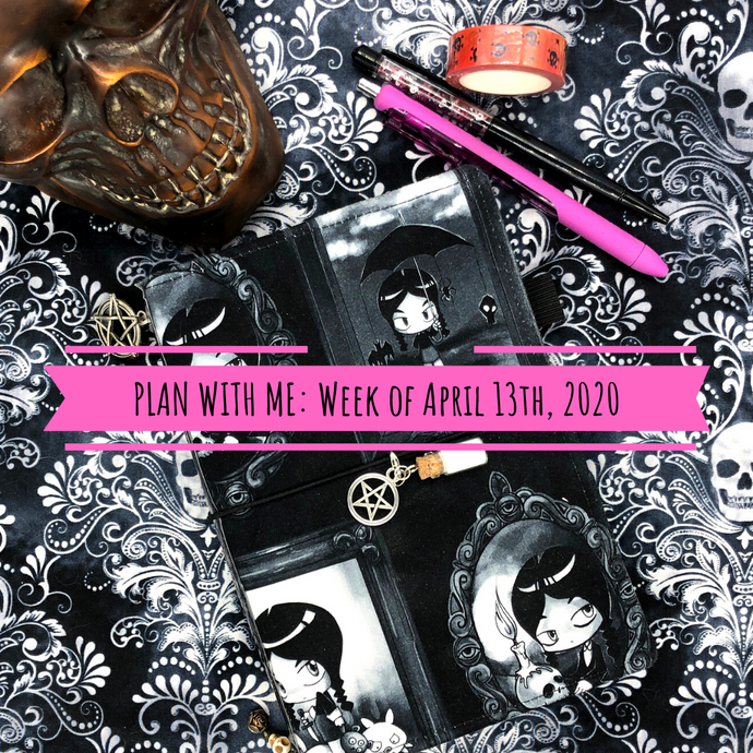 Plan With Me: Week of April 13th