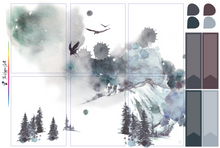 Load image into Gallery viewer, Midwinter Watercolor Weekly Kit