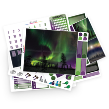 Load image into Gallery viewer, Northern Lights Photo Weekly Kit