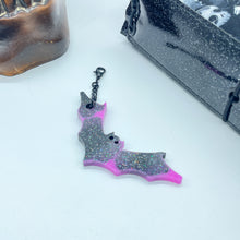 Load image into Gallery viewer, Pink Glam Bat Super Sized Charm