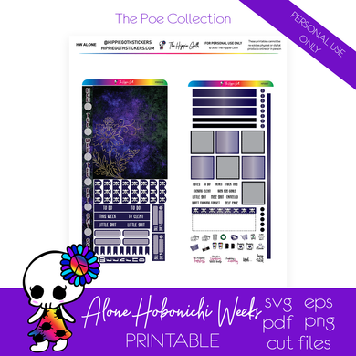 Alone Hobonichi Weeks Printable
