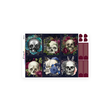 Load image into Gallery viewer, Floral Skull Weekly Kit