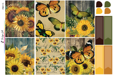 Load image into Gallery viewer, Vintage Sunflower Weekly Kit