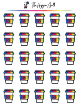 Load image into Gallery viewer, Rainbow Coffee Cup