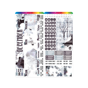 December 2020 Hobonichi Weeks Monthly Kit