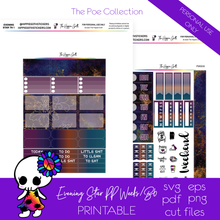 Load image into Gallery viewer, Evening Star PP Weeks/B6 TN Printable