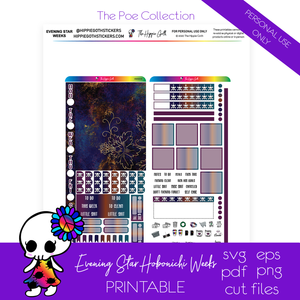 Evening Star Hobonichi Weeks Printable