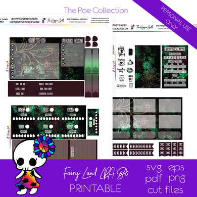 Fairy-Land LPA B6 Printable