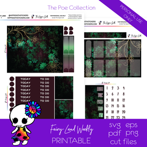 Fairy-Land Weekly Kit Printable