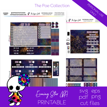 Load image into Gallery viewer, Evening Star LPA B6 Printable