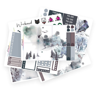 Midwinter Watercolor Weekly Kit