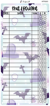 Load image into Gallery viewer, Pastel Goth Shit I Bought Hobonichi Sticker