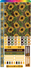 Load image into Gallery viewer, Vintage Sunflower Hobonichi Weekly Kit