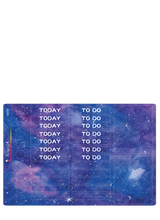 Load image into Gallery viewer, Watercolor Purple Galaxy Weekly Kit