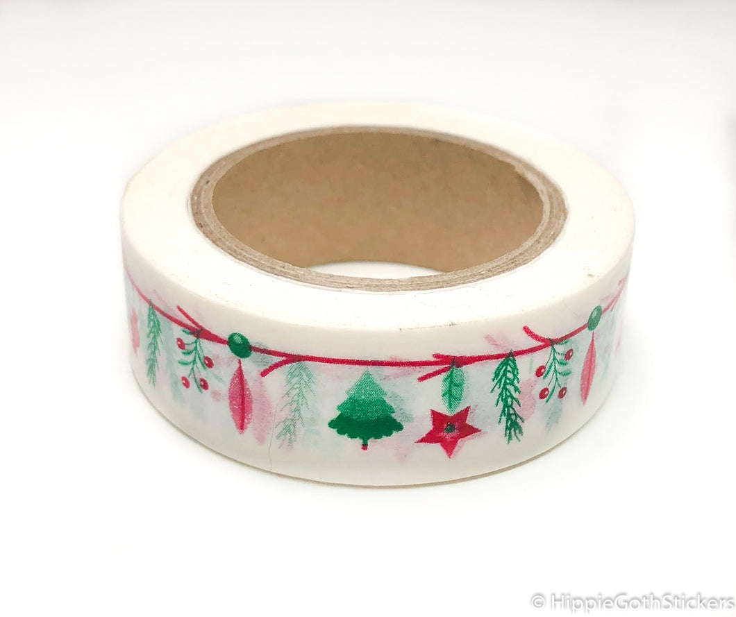 Christmas Garland Washi
