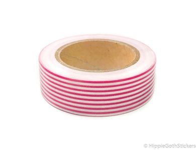 Candy Stripe Washi