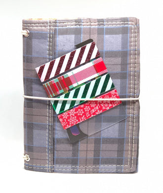 Christmas Striped Washi Sampler