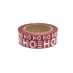 Ho Ho Ho Christmas Washi