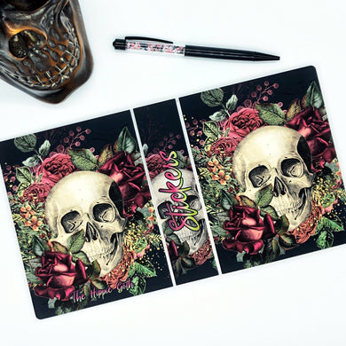 Floral Skull 4x6 Sticker Album