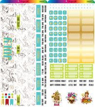 Load image into Gallery viewer, July 2020 Hobonichi Weeks Monthly Kit