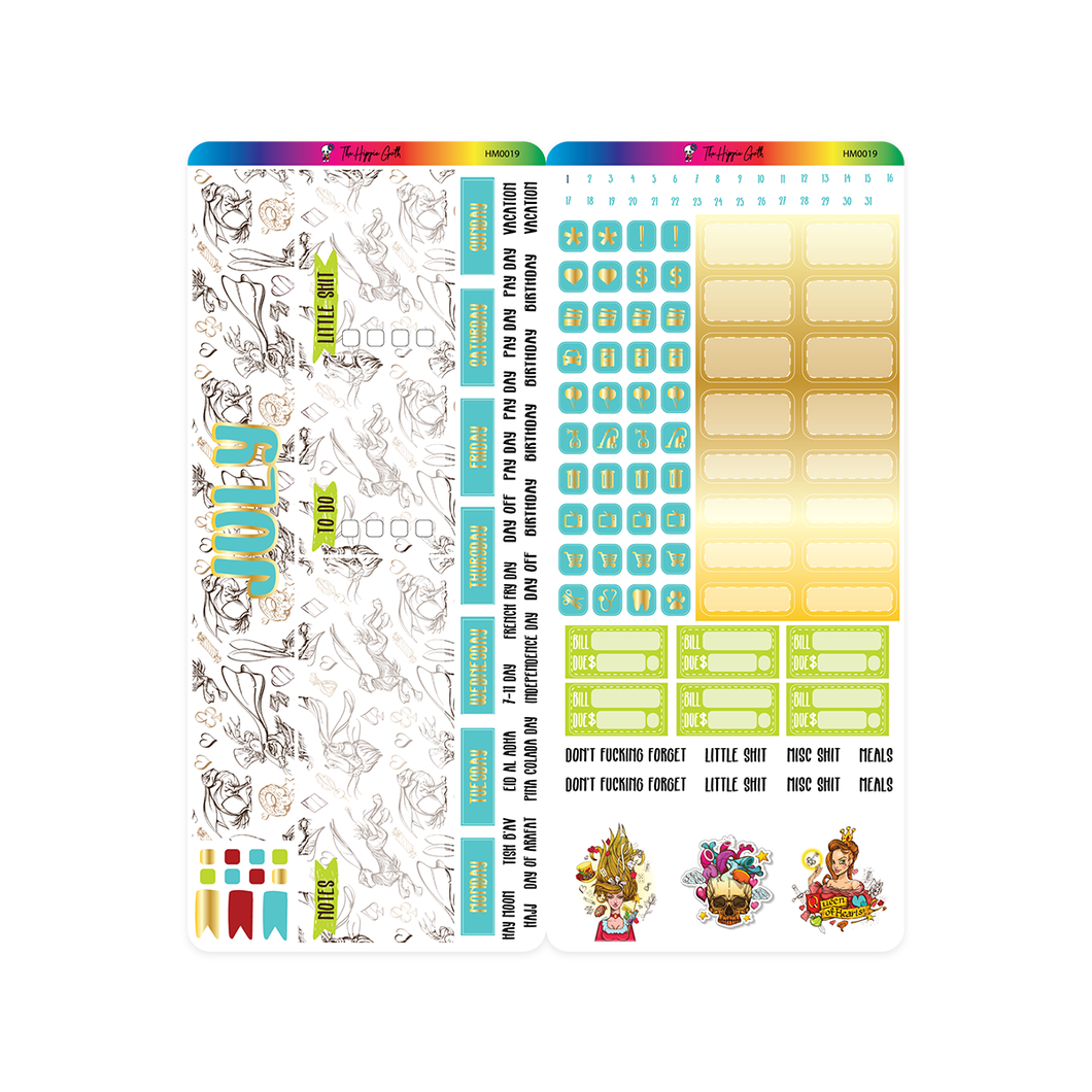 July 2020 Hobonichi Weeks Monthly Kit