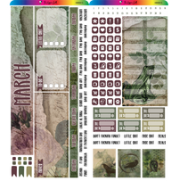 Load image into Gallery viewer, March 2020 Hobonichi Weeks Monthly Kit