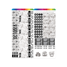 Load image into Gallery viewer, Fourth Quarter 2020 Hobonichi Weeks Monthly Kits