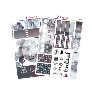 Midwinter Watercolor PP Weeks/B6TN Mini Kit