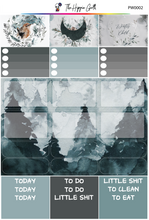 Load image into Gallery viewer, Watercolor Winter PP Weeks/B6TN Mini Kit