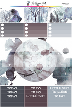 Load image into Gallery viewer, Midwinter Watercolor PP Weeks/B6TN Mini Kit
