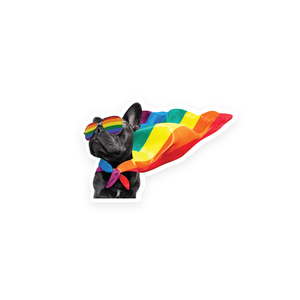 Pierre Pride Puppy Die Cut